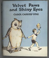Pop-Up Rare Antique Movable Paper Toy Book In Dj Velvet Paws And Shiny Eyes Cole