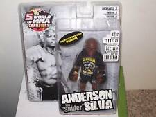 ANDERSON SILVA ROUND 5 UFC EXCLUSIVE MMA FIGURE WITH SHIRT
