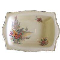 Royal Winton Grimewades Pale Yellow Tershore Small Tray/Trinket Dish