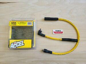Accel - 172086 - 8.8 Custom Fit Spark Plug Wire Set, Yellow Harley XL