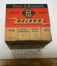 1 Power Relay SPSTNO 115VAC Coil, 8A Cont. Potter&B #MR1A115, Lot 184, USA