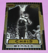 CHRIS WEBBER BULLETS BOWMAN'S BEST RETRO TOPPS 1997 NBA BASKETBALL CARD