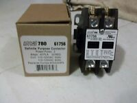 MARS 780, 61757 Definite Purpose Contactor 2 Pole New In Original Box