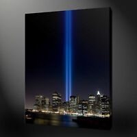 TWIN TOWERS HIGHEST QUALITY NEW YORK WALL ART CANVAS PRINT PICTURE READY TO HANG