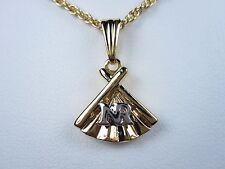 "Nr logo - 16-18"" length 0252 Nina Ricci Gold Plated Pendant with"