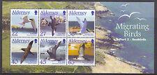 Alderney 2003 blok13   Vogels  birds          postris/mnh