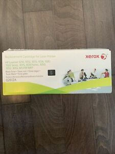 Brand New Xerox Replacement For HP LaserJet Ink Cartridge Black Replaces Q2612A