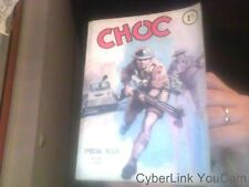 Choc 1ere Serie N° 287 : Special Relie Album De 3 N° Digest Bd Petit Format