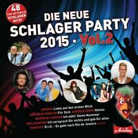 DIE NEUE SCHLAGER PARTY 2015 - VOL.2: NEUE SCHLAGER BRAUCHT DAS LAND  CD NEU