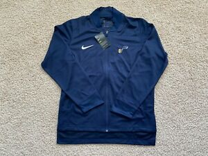 Nike Utah Jazz full zip long sleeve shirt