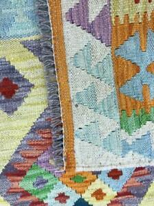 Handmade Rugs Organic Colours 100% woollen Afghan Vintage Kilim Carpet 120x180cm