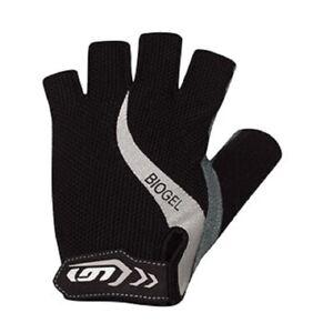 Louis Garneau Women's Biogel RX Bicycle Gloves new black