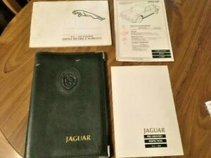 Jaguar Daimler XJ40 XJ6 - Owners Manual Pack for 1990>1994 3.2 - 4.0 (007)