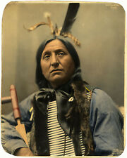 1899 Left Hand Bear Oglala Sioux Chief Native American Indian 11x14 Poster Print