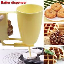 1pcs Handle Cake Making Helper Cup Pastry Batter Dispenser Meatball Mould Maker