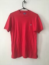 Vintage 80s Champion T Shirt Red Logo Spell Out Made In Usa Medium Hip Hop M