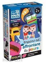 Lisciani Life Skills Cards Imparo A Superare La Paura 2+ Giochi Educativi