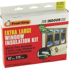Thermwell Frost King XL SHRINK FILM WINDOW KIT Clear Plastic - 3 pack