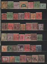 Australia Perfin Lot of Different Design Faces