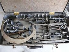 Vintage 1940'S Cast Aluminum Fitted TOOLBOX Ratrod Reading Knitting Machine