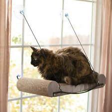 """K&H Pet Products 9550 Tan Ez Mount Cat Scratcher Kitty Sill Tan 11"""" X 20"""" X 2"""""""