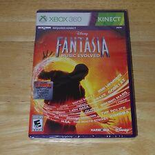 XBOX 360 Game for Kinect - Disney Fantasia Music Evolved - New Sealed