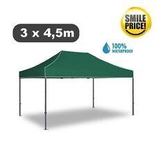 Gazebo pieghevole impermeabile in alluminio 3x4,5m Verde - EXPO - Smile Price -