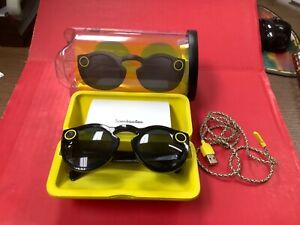 Black Snapchat 2016 Spectacles