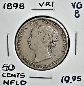 1898 Newfoundland 50 cents