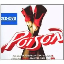 Poison - The Best of Poison: 20 Years of Rock & Poison'd! CD/DVD NEU OVP