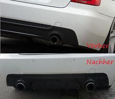 AUSPUFF AUSPUFFBLENDE SPORT BLENDEN ENDROHRE SCHWAR BMW E90 E60 F10 E92