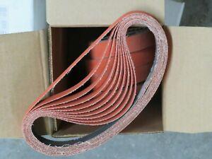 "5 pcs NORTON SG Blaze 3/4"" x 18"" Grit 80 Sanding Belts 98029 USA"