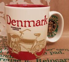 ORIGINALE Starbucks CITY MUG/TAZZA Denmark/Danimarca, Global Icon, nuovo M. sticker!