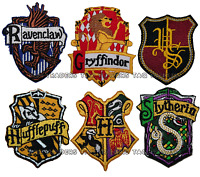 harry potter house badge embroidered iron on patch  badge movie fancy dress
