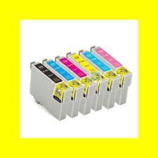 6 x Cartouche d'encre pour Epson Stylet Photo 1400 1500 P50 PX650 remplace T0791