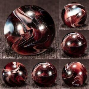 MFC Transitional PURPLE Slag Vintage Swirl Marble 9/16-  Mint hawkeyespicks sg