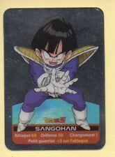 Carte Dragon Ball Z n° 24 SANGOHAN - Métal fond Argent (Lamincards)