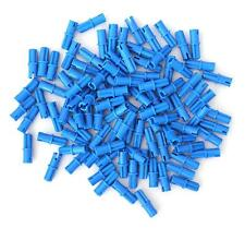 Lego Technic 100 pcs Axle Pin Connector 43093 Blue Mindstorms Ev3 Nxt -New