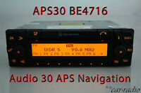 Original Mercedes Navigationssystem Audio 30 APS BE4716 Becker Radio APS 30 Navi