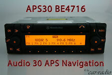 ORIGINALE Mercedes Sistema di Navigazione Audio 30 APS be4716 Becker radio APS 30 navi