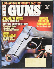 Magazine *GUNS* April 1996 KAHR Model K9 9mm PISTOL, *REMINGTON Model 700 RIFLE*