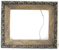 AMERICAN ART & CRAFTS / DECO GILDED WOOD FRAME FOR PAINTING  12 X  9 1/2  INCH