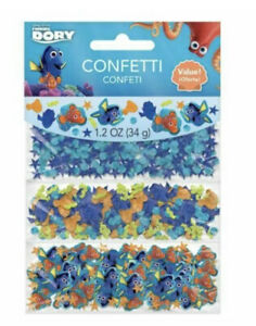 FINDING DORY CONFETTI VALUE PACK ~ Party Supplies Decorations Nemo