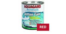 Aquagard Waterbase Antifouling Bottom Paint QUART RED