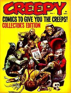 Creepy #1 Photocopy REPLICA Magazine