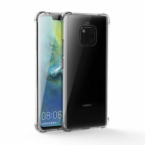 New Case For Huawei Mate 20 Pro Ultra Slim Shockproof Silicone Transparent Cover