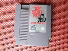 Golgo 13: Top Secret Episode (1988) Nintendo NES TESTED WORKS CLEAN