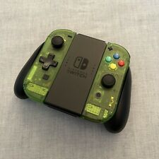 Nintendo Switch Joy Con Controller PAIR CUSTOM COLOUR with D-PAD - JUNGLE GREEN