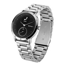 Nokia Withings Steel HR 40MM Stainless Steel Wristwatch Band  Silver