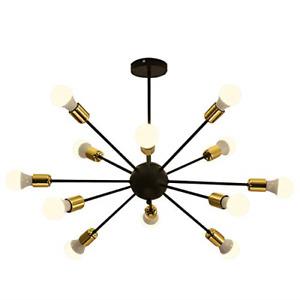 Suraprs House Sputnik Chandelier,12 Lights Mid-Century Ceiling Light